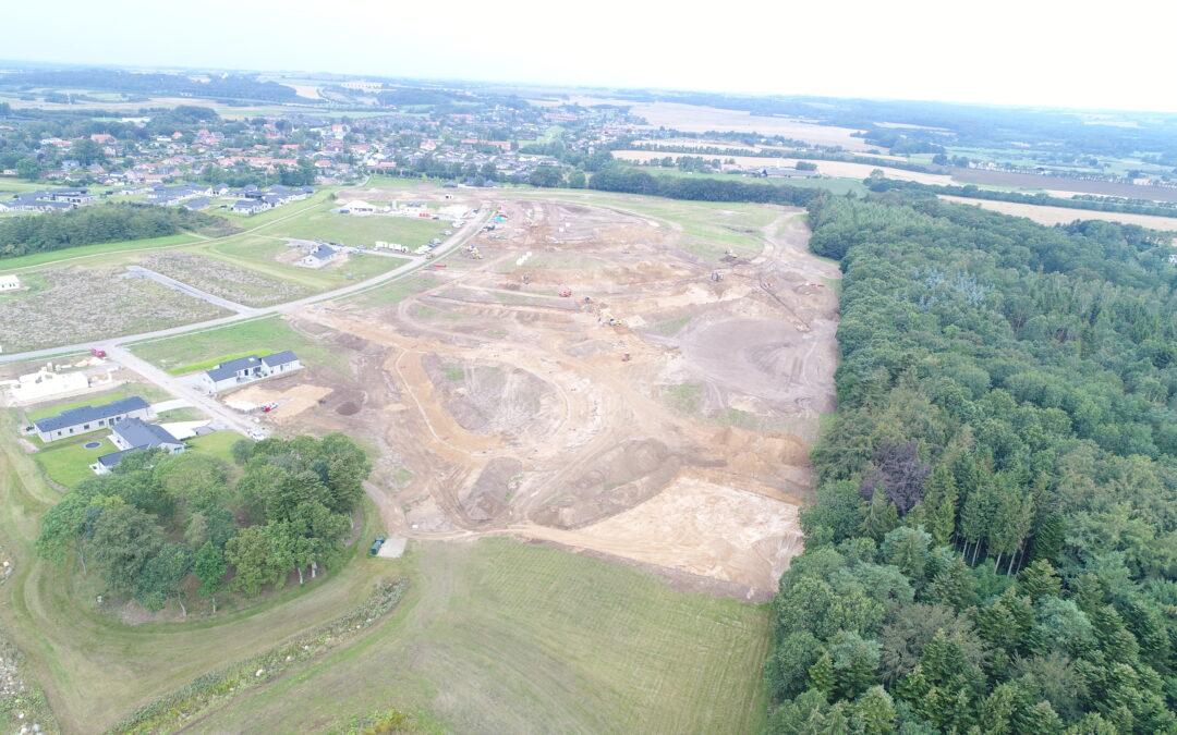Byggemodning af sidste etape i Provstlund er i fuld gang